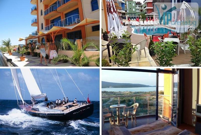 Двудневни и тридневни пакети със закуски или със закуски и вечери + разходка с яхта в Хотел Пенелопе***, Приморско