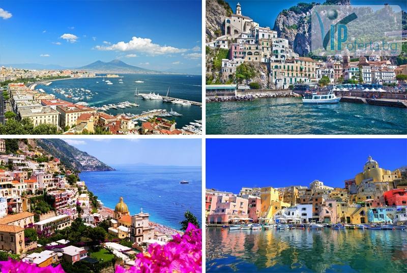 Екскурзионна седемдневна почивка със самолет в Нeапол, Помпей, Амалфи!