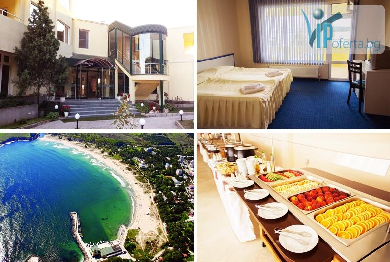 Еднодневен пакет със закуска за двама през септември в Хотел Марина***, Китен